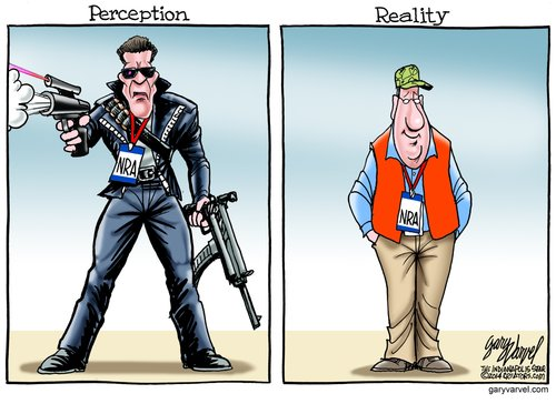While I will admit that there are a few loose cannons out there, this is an accurate depiction of the NRA members that I have met...:)